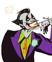 goodness, Joker by Spoonfayse