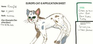 Europe cats application by XxFlameFrost101xX