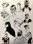 Inktober Sketches by VoteQuimby
