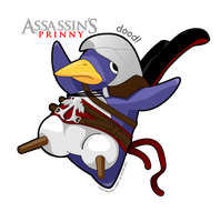 Assassin's Prinny by madcoffee