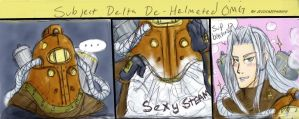 Subject Delta De-Helmeted OMG by JessySketches