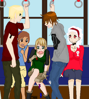 Why I Hate Train Rides Collab. -CLOSED- by pinkyziggy444