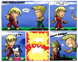 Sonic Boom Color by arsenalgearxx