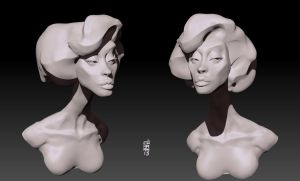More Zbrush Sketches by CamaraSketch