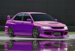 Purple Evo by tRiBaLmArKiNgS