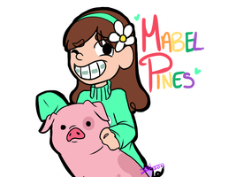 Mabel Pines by ShySiesta