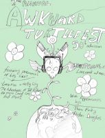 Awkward Turtle Comix 2 cover by Angryviking