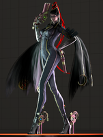 Umbra Witch Bayonetta by Yare-Yare-Dong