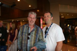 Ron Perlman at Comic Con 2008 by tygertailzz