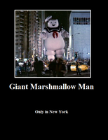 Giant Marshmallow Man by ShadowCrisis09