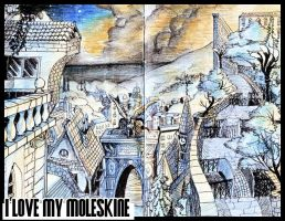 I love my Moleskine 2 by Bonooru