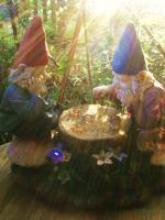 gnomes by GoddessLaura