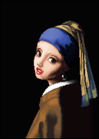 Girl With A Pearl Earring by themaunster
