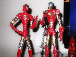 IRON MEN in wire by TheWallProducciones