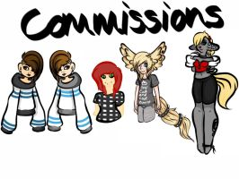 : Commissions : by Smoshu