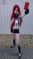 Red Card Katarina Cosplay 6 by HoraCosplay