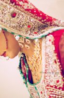 Day 204: The Bride in Red. by umerr2000