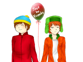 SouthPark -  Just Be Friends by MomochiInWonderland