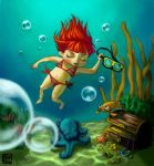 Under the sea... by Kekel