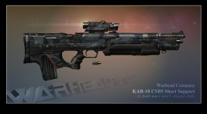 KAR-18 CSB5 Short Support by BlackDonner
