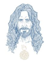Chris Cornell - Fan Art by Yulian-Ardhi