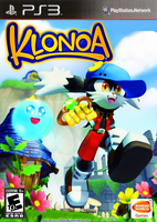 Klonoa for PS3 Box art by MrChezco1995