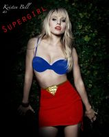 Kirsten Bell as Supergirl by KittieVampire