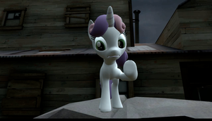 Sweetie Belle - 99 Buckets of Oats (SFM) by EDplus