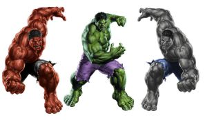 Incredible Avengers (Hulks Smashing) by Perkunasloki