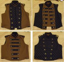 Men's Reversible Vest by sidneyeileen