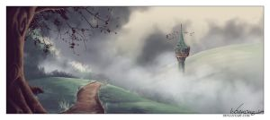 Crooked Tower by ValkAngie