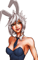 Battle Bunny Riven by o0Mythius0o