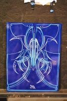 Big ol' Blue by Hepcat-Pinstriping