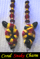 Coral snake charm by HollieBollie