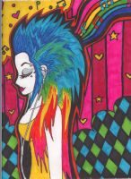 Rainbow Girl by Jazee-Kazaam