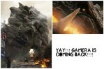 GAMERA WILL BE BACK. :D by Angelgirl10