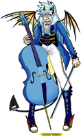 [CLOSED] Demon Cellist [Infernal Ensemble adopts] by azume-adopts