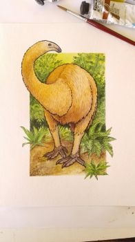 North Island Moa by commander-salamander