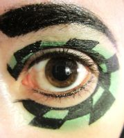 black and green checker by InkIsMyPassion