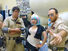 Molly Meets the Ghostbusters by LolitaLibrarian