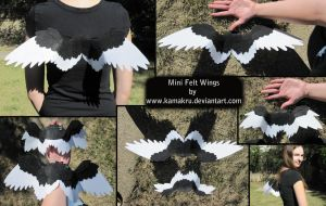 Felt Wings: Mini Styles by Kamakru