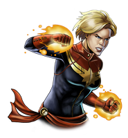 Canceled project - Carol Danvers by Fan-the-little-demon