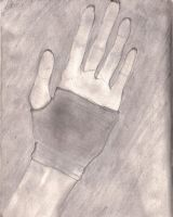hand with glove by Killing4Revenge