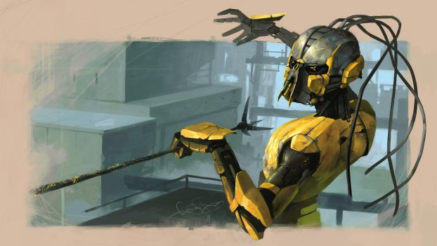 Cyrax by fear-sAs