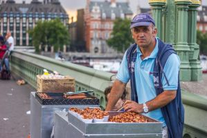 The nut man by JSWoodhams