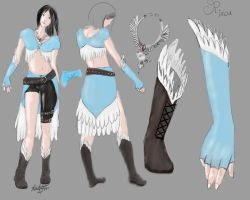 ALT Rinoa Outfit by VanityElric