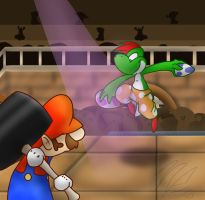 Prize - Yoshi Kid VS. Gonzales by BatLover800