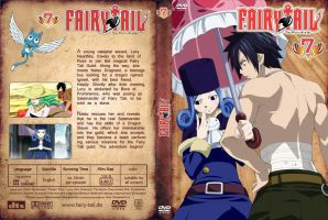 Fairy Tail Custom DVD Cover 07 by Niralina