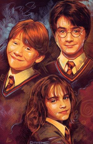 Harry Potter by daveisblue