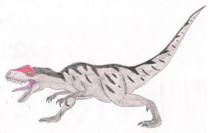 Allosaurus by Gris93